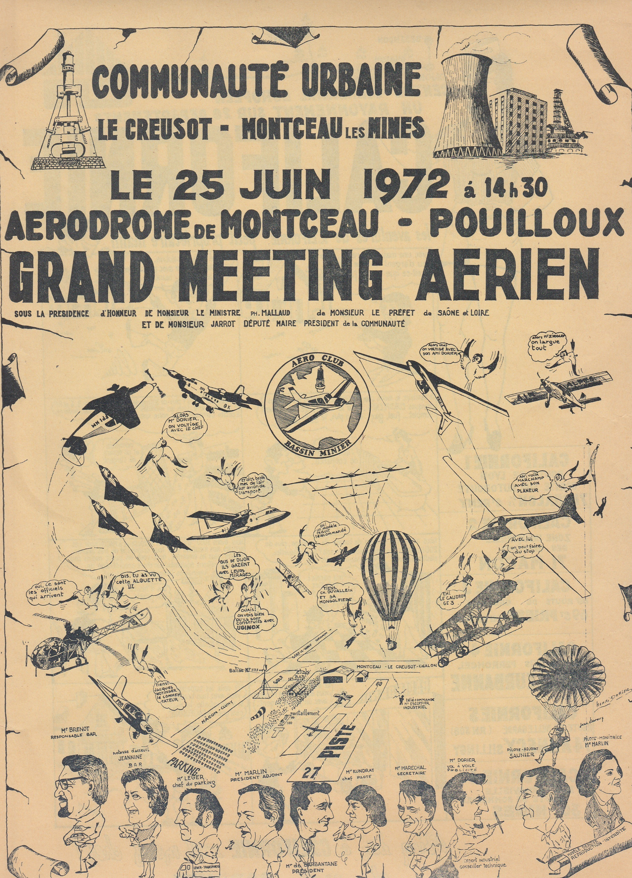 affiche meeting 1972